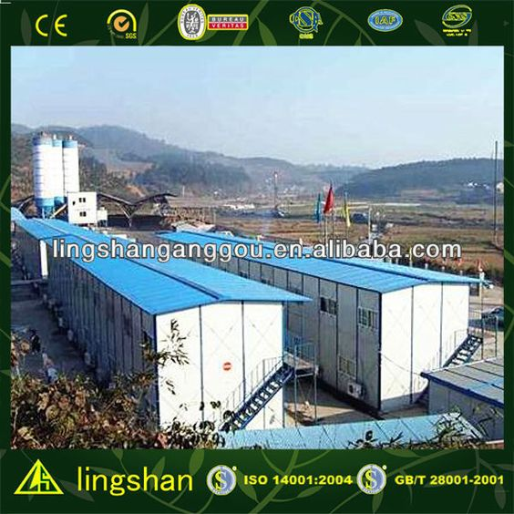 China prefab two story camp house