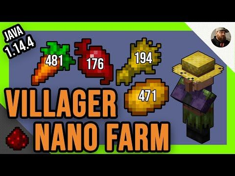 Villager Nano Farm Java Minecraft 1 14 4 Idea S And Tutorials