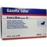 GAZOFIX color Fixierbinde 6 cmx20 m blau rezeptfrei in der Versandapotheke