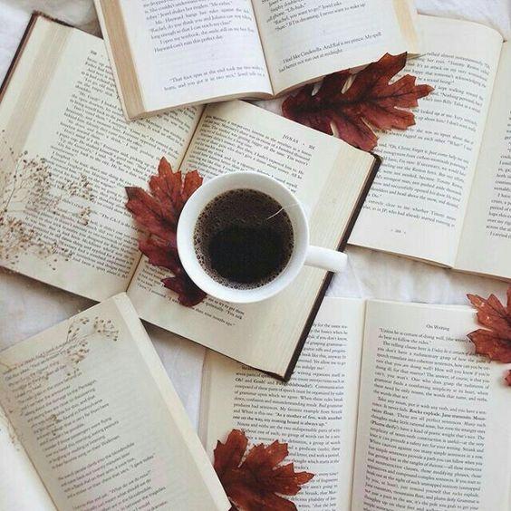Books and a Dark Coffee #booklover #autumnlover