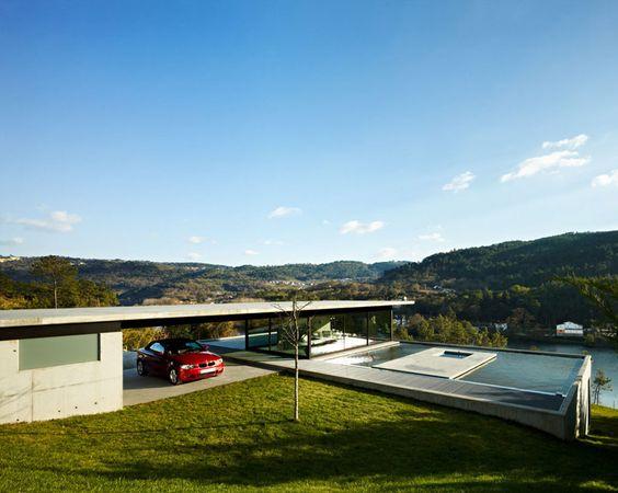quico jorreto: house on the minho river, spain