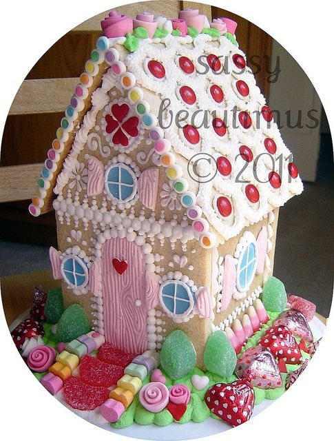 gingerbread house: