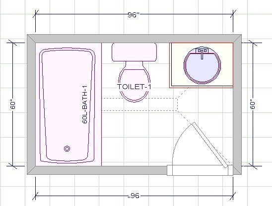 Image Result For 5 X 8 Bathroom Layout Bathroom Floor Plans Small Bathroom Floor Plans Small Bathroom Layout