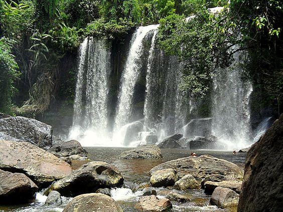 phnom kulen national park | Panoramio - Photo of Waterfall, Phnom Kulen National…