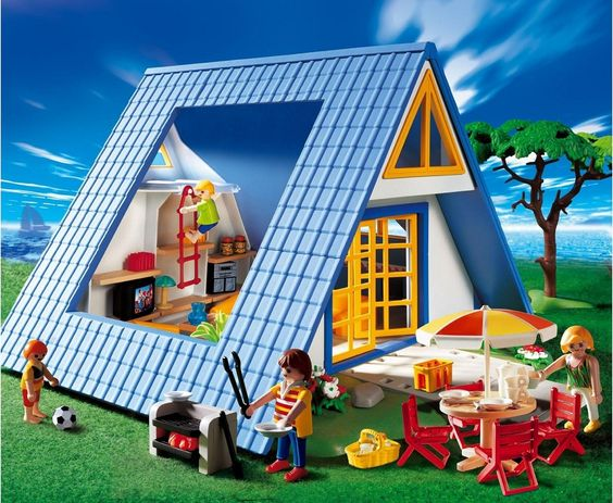 Playmobil family vacations and vacations on pinterest - Magasin maison de famille ...