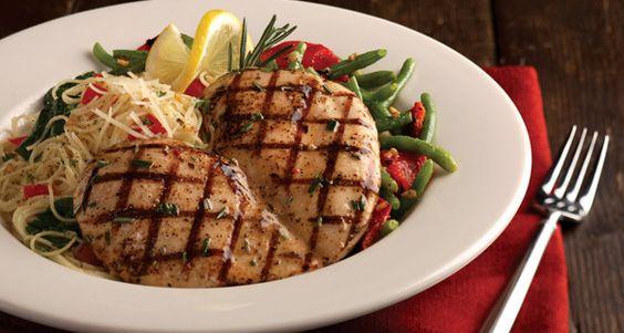 Carino's Italian Grill Copycat Recipes: Lemon Rosemary Chicken