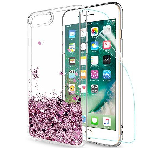 coque iphone 8 plus liquide sable