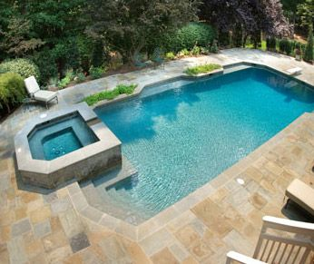 Backyard budget swimming pool ideas about backyard for Backyard makeover with pool