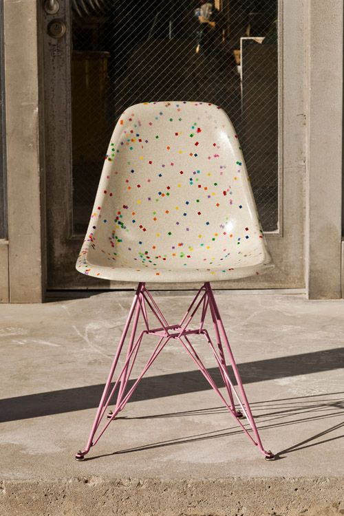@StudioDIY x Modernica Confetti Chair with Pink Eiffel - Limited Edition: