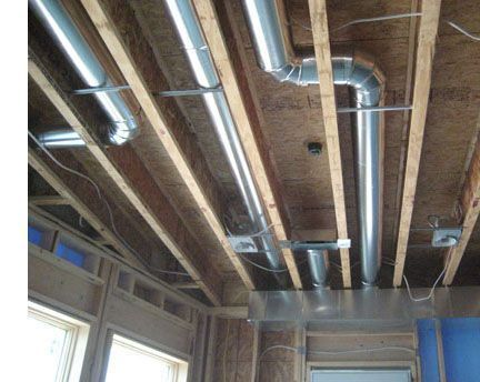 Air Duct Insulation Wet