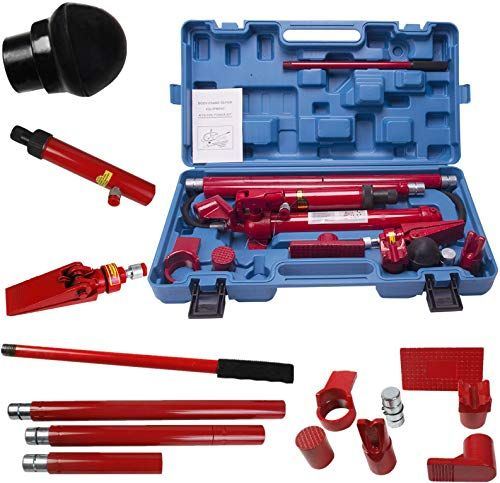 Enjoy Exclusive For 10 Ton Porta Power Hydraulic Jack Repair Kit Auto Shop Air Pump Lift Ram Body Frame Tool Heavy Set Online Lifted Ram Car Shop Auto Body Repair