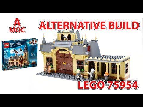 Lego Train Station From The Set 75954 The Great Hall Alternative Build A Moc Youtube Lego Train Station Lego Trains Lego Harry Potter Moc