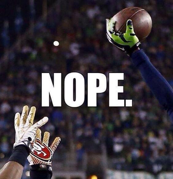 49ers get denied a trip to the Super Bowl.