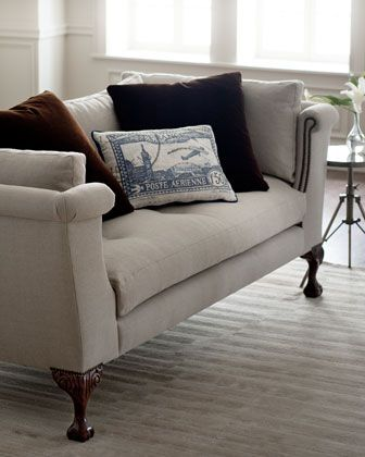 Lincoln sofa by haute house at horchow really like this for Stores like horchow