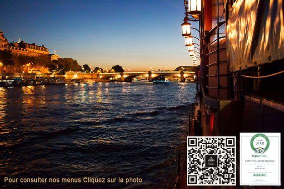 Bateau le Calife : diner croisiere sur la Seine à Paris