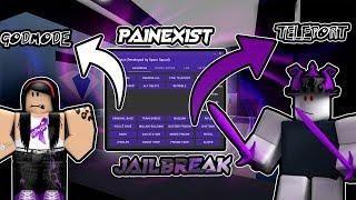 Painexist Roblox Jailbreak Hack Noclip Teleport Speed Hack