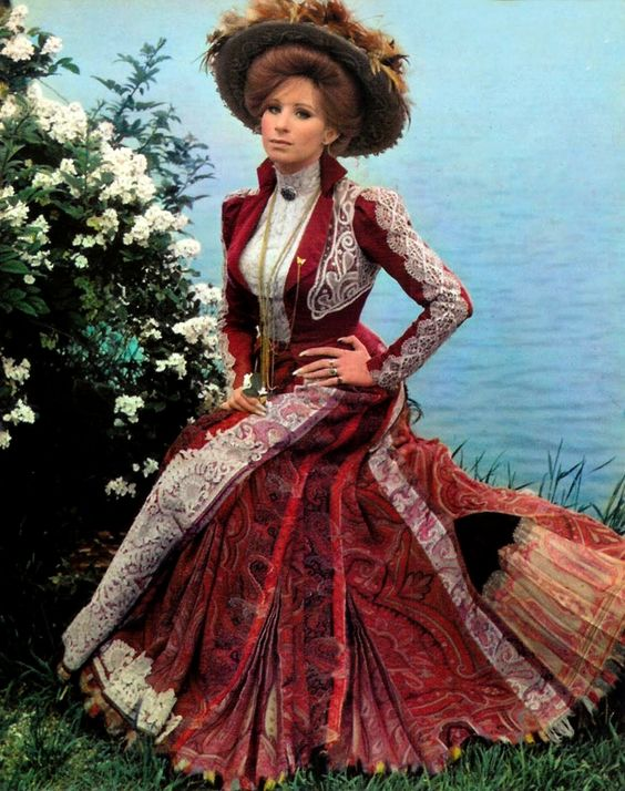 Dolly's morning scenes dress - At the lake #CWFilmNight
