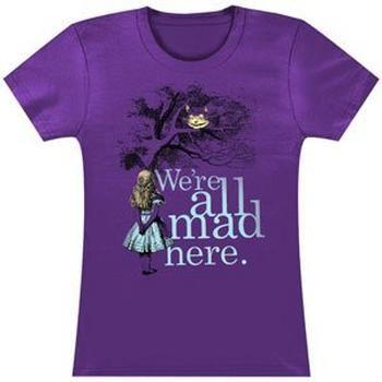 Rockabilia Alice In Wonderland Were All Mad Here Girls Jr #Glimpse_by_TheFind
