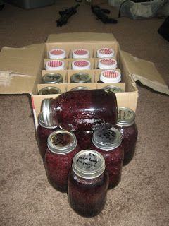 Canning blackberry cobbler and pie filling