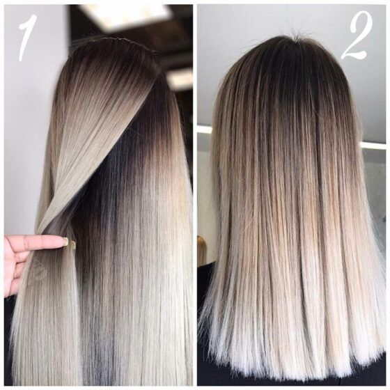 Warm Tones From Roots To Ends Make This Ombre Style That Fades