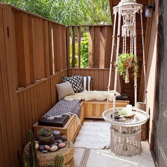 Excuse-Busting Answers For Why You Don't Use Your Outdoor Area (Click link above in our profile to read the post on Apartment Therapy!)