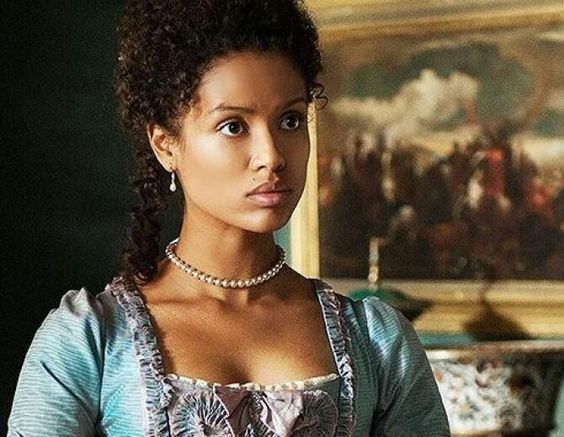 Actress Gugu in the movie Belle
