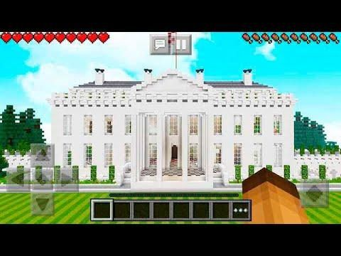 How To Build The White House In Minecraft Minecraft Educational Video Building The White House Minecraft Minecraft Projects