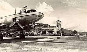 Panair do Brasil, Douglas DC-3 no Aeroporto de Poços de Caldas, decada de 40