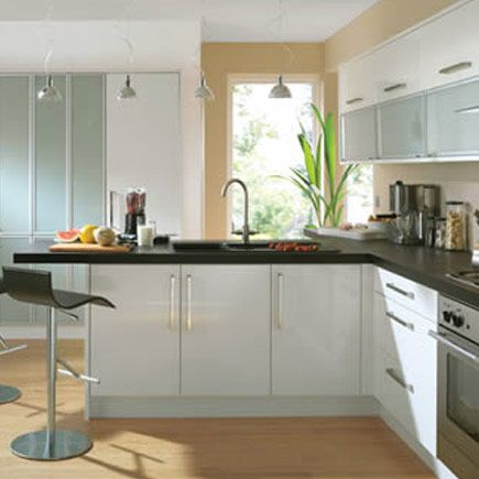 Kitchen wickes glencoe white gloss home for Wickes kitchen cupboards