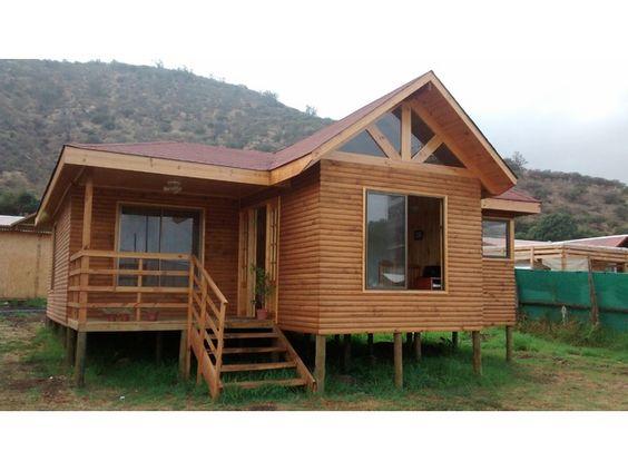 Caba as prefabricadas dos pisos buscar con google - Cabanas casas prefabricadas ...