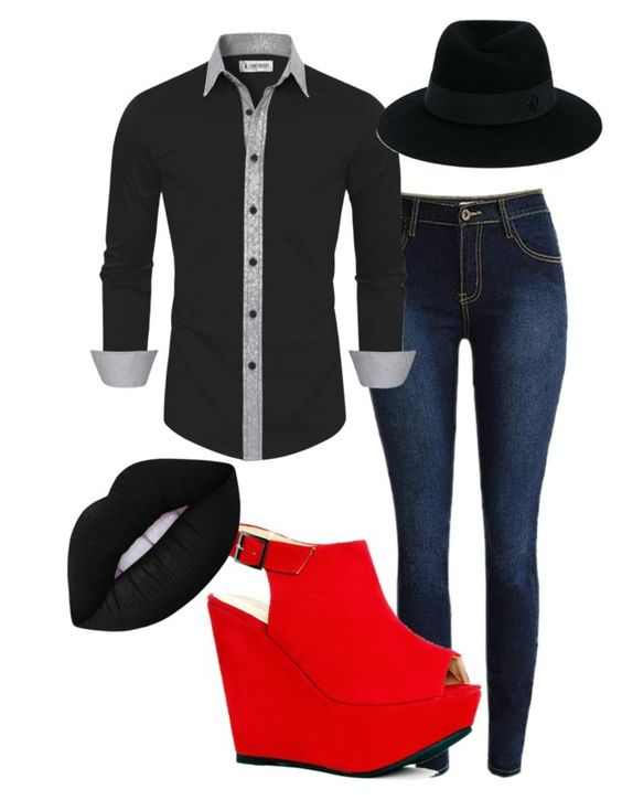 """""""New age class"""" by pelusodanielle on Polyvore featuring Lime Crime and Maison Michel"""