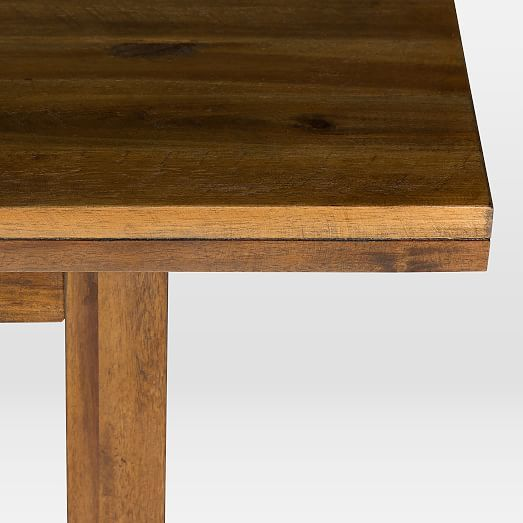 Logan Industrial Expandable Dining Table 75 94 Natural West