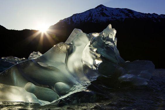 Ice Sun Pretty Light Beautiful Winter