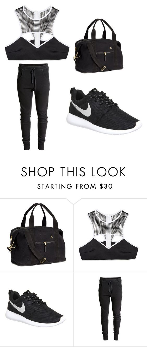 """""""My First Polyvore Outfit"""" by sophiemcmenemy15 ❤ liked on Polyvore featuring H&M, This Is a Love Song and NIKE"""