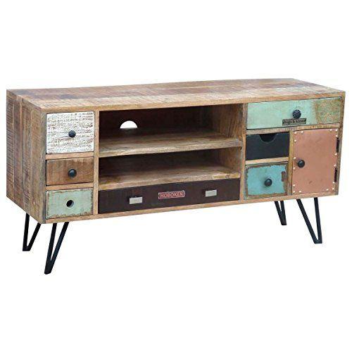 9 Genial Galerie Von Tv Lowboard Vintage Tv Mobel Holz Lowboard