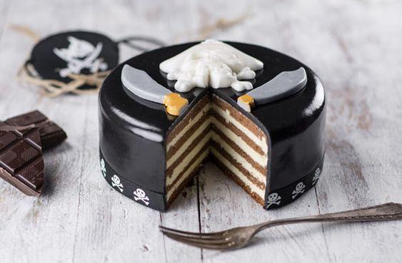 Piraten TorteBiskitty Torten Konfigurator - das perfekte Kindergeburtstags Geschenk