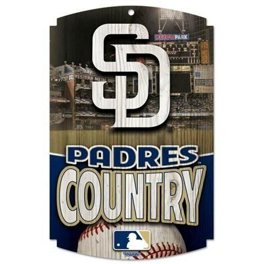 San Diego Padres Sign 11x17 Wood Country Design Special Order San Diego Padres Wincraft Padres