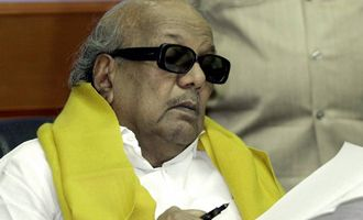 Karunanidhi scripts for Ramanujar
