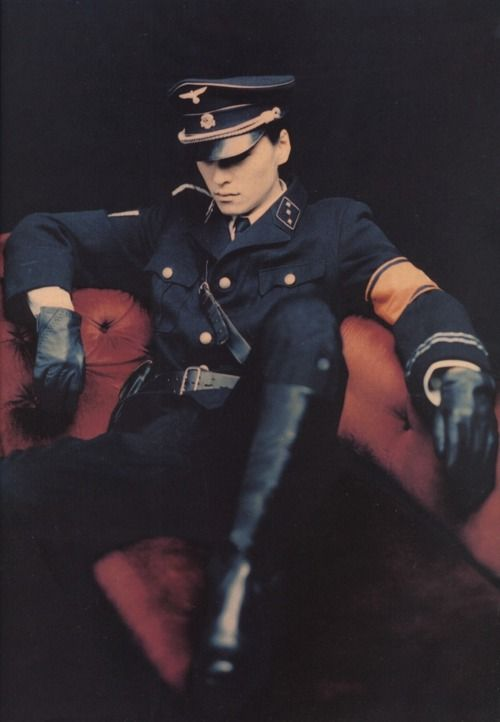 Nazi Germany knew how to do one thing right: look fucking sexy as hell in uniform.