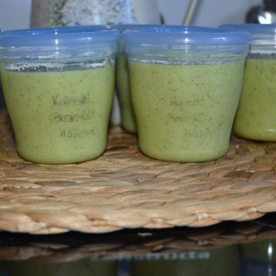 Rezept Kartoffel Brokkoli Hähnchen Fenchel Brei von Cindy86 - Rezept der Kategorie Baby-Beikost/Breie
