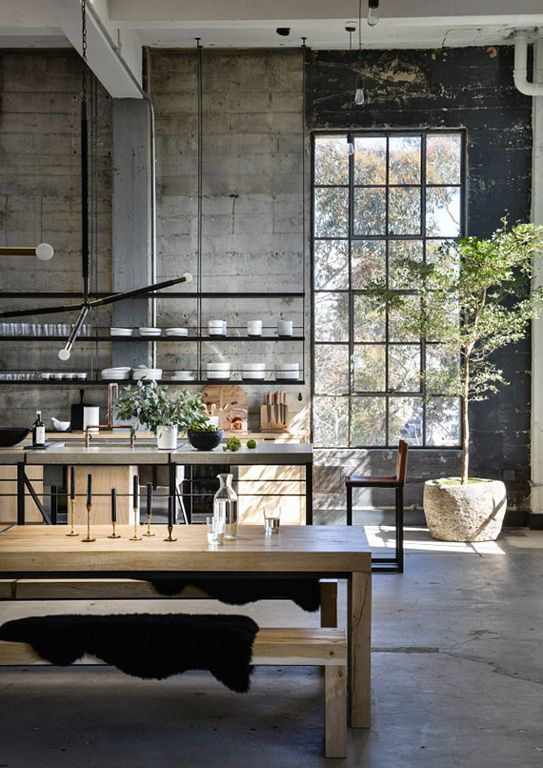 An Old Industrial Building Restored Into A Loft Space In 2020