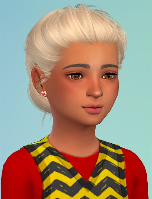 Sims 4 CC's - The Best: Hair for Kids by Sheplayswithlifeee