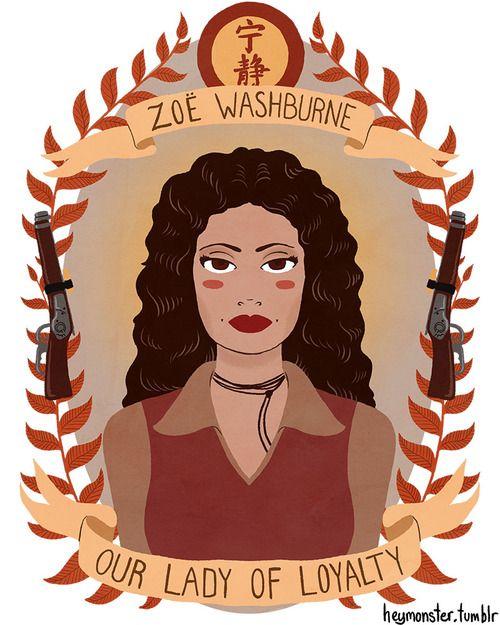HeyMonster - Zoë  Washburne Our Lady of Loyalty