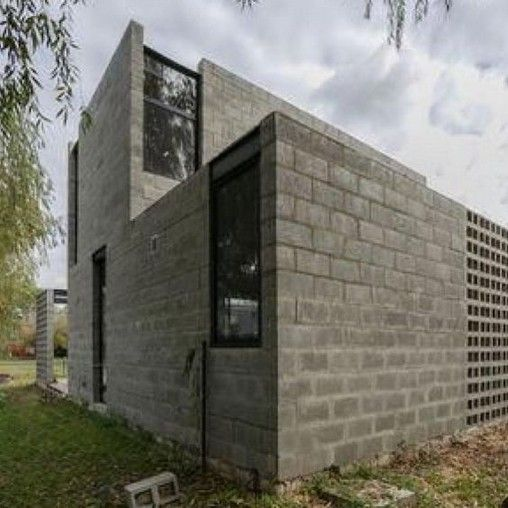 32 Awesome Decorative Concrete Block Wall House The Culture Casas De Ladrillo Paredes De Bloques De Hormigon Cemento Decorativo