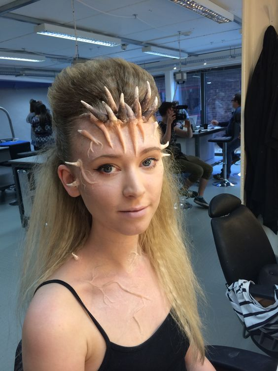 Prosthetic horn headpieces - perfect for a dragon or demon costume!