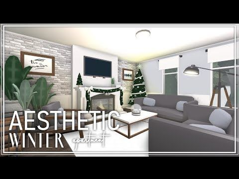 Roblox Welcome To Bloxburg Aesthetic Winter Apartment Youtube Roblox Home Decor Apartment