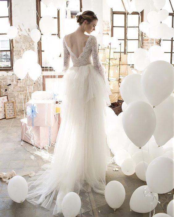 A touch of Magic #NoyaBridal wedding dress from Noya Bridal 2016 | I take you - UK wedding blog #weddingdress #bridaldress #weddingdresses :