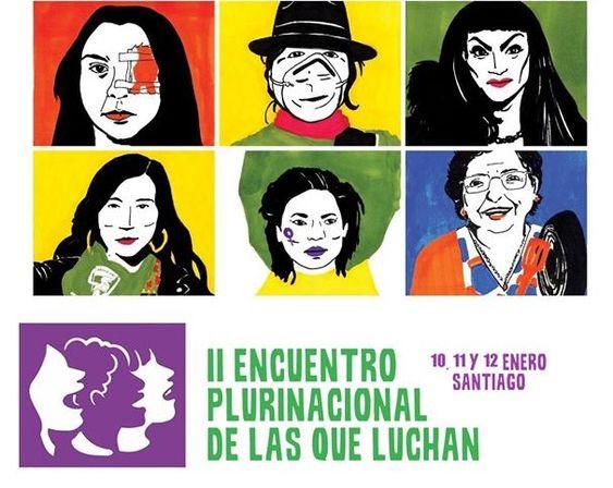 """Coordinadora Feminista 8M convoca a """"Segundo Encuentro Plurinacional de las que Luchan"""""""