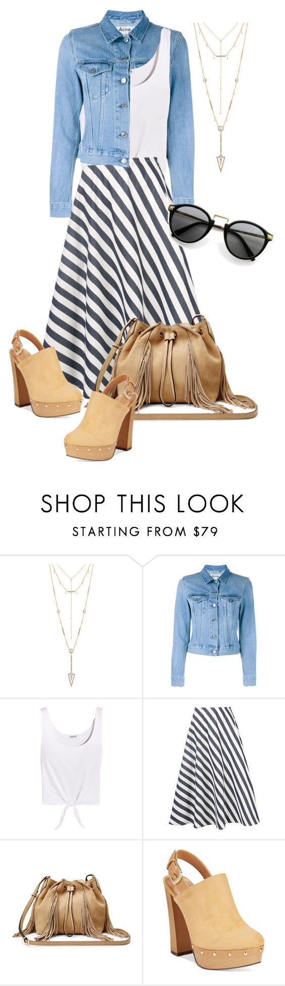 """""""Untitled #631"""" by indirareeves on Polyvore featuring House of Harlow 1960, Acne Studios, Splendid, Sofie D'hoore, Diane Von Furstenberg and Report"""