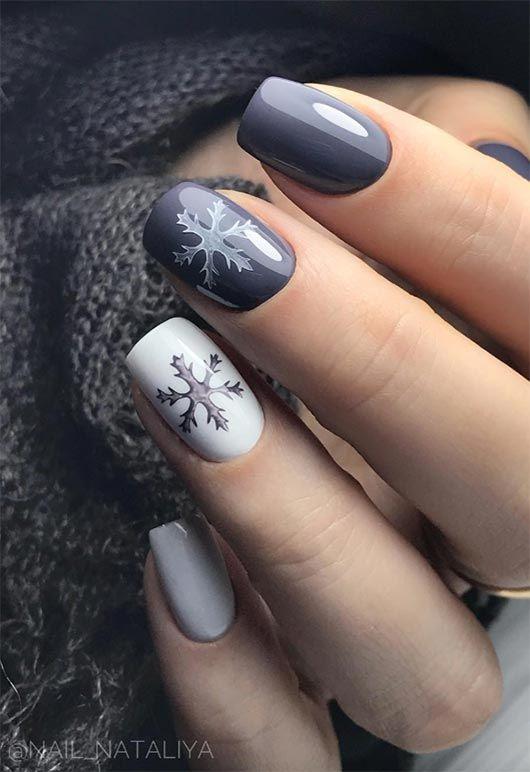 65 Awe Inspiring Nail Art Designs For Short Nails Christmas Nails Acrylic Cute Christmas Nails Short Nail Designs
